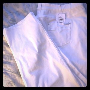 NWT Basler white skinny jeans in size EUR 52/US 22